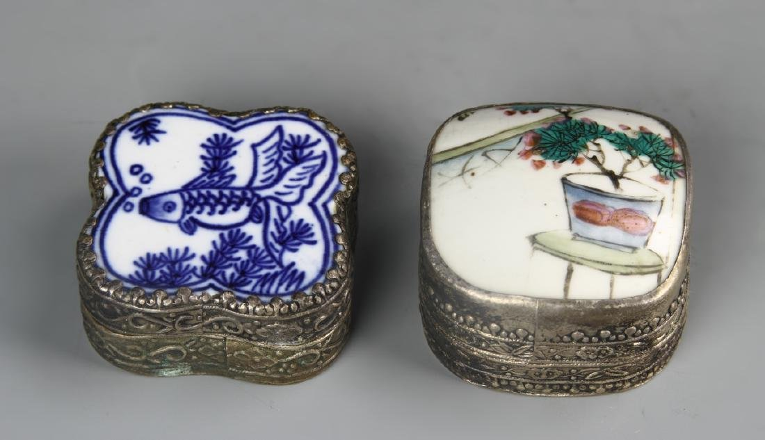 Chinese Two Make Up Boxes