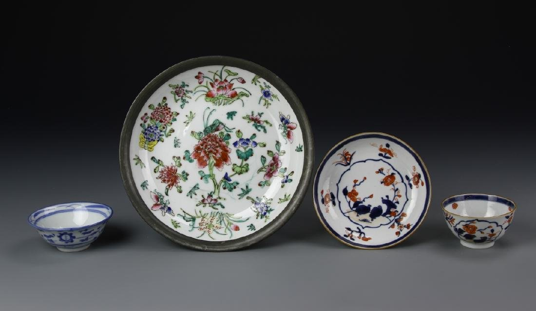 Chinese 4 Porcelain Items