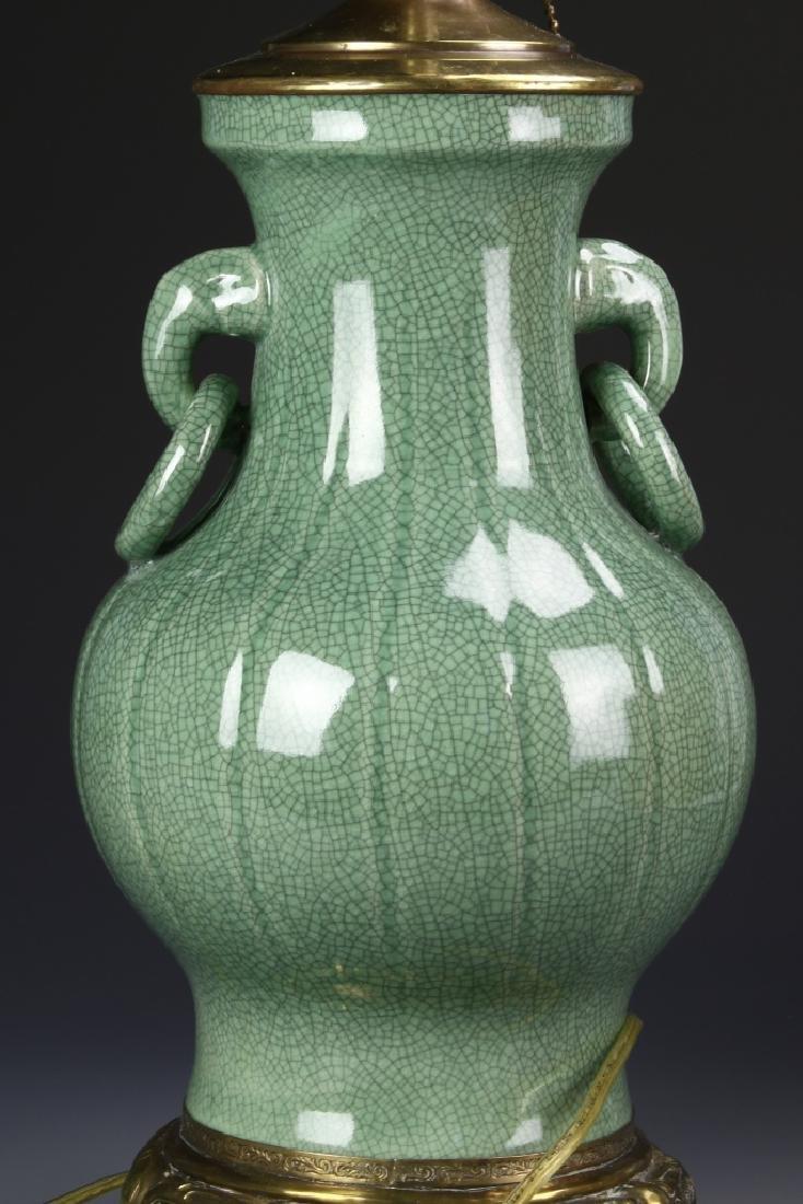 Chinese Vase Lamp - 4