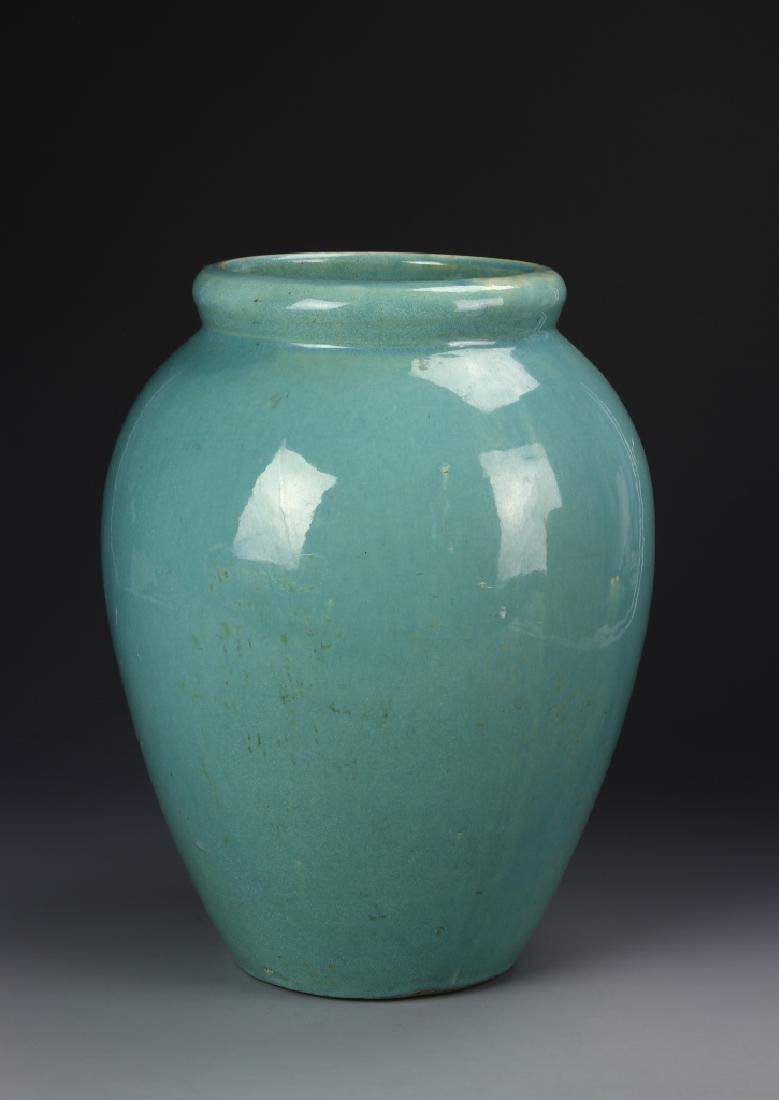 Blue Art Porcelain Jar