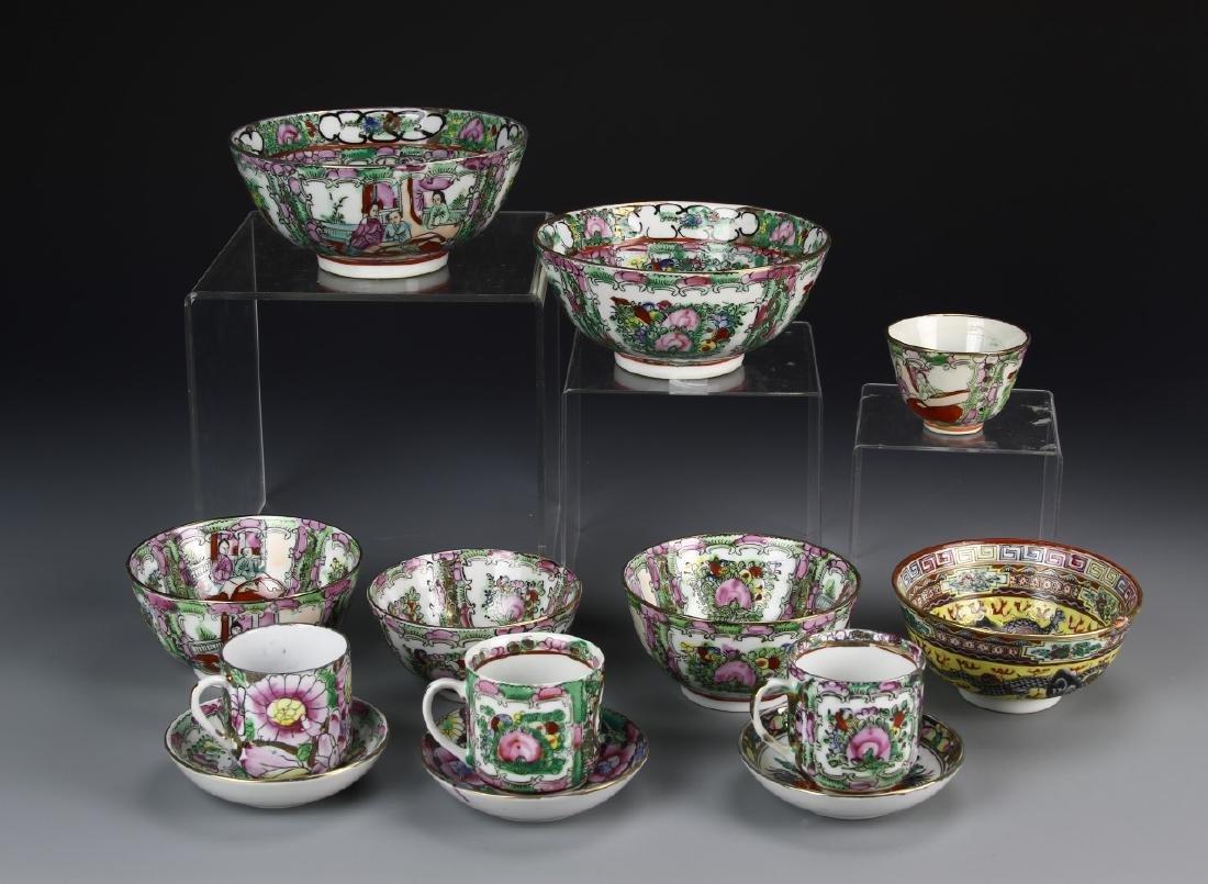 Thirteen Famille Bowls