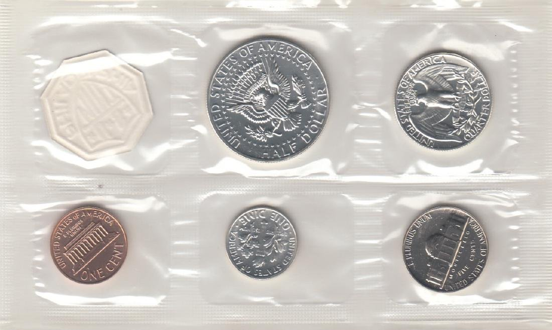 A Set Of 5 1964 Proof Set US Coins