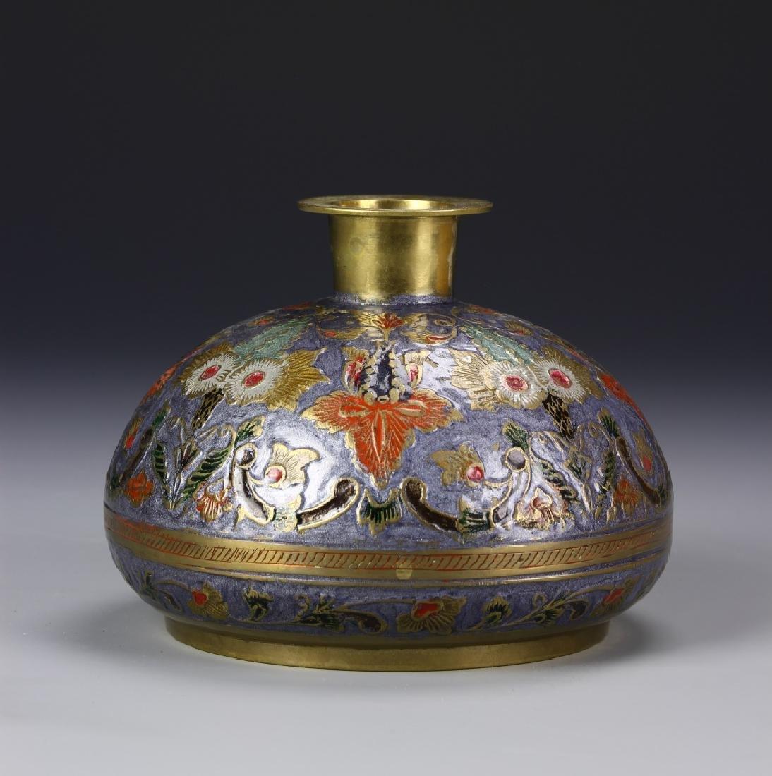 Chinese Enameled Vase