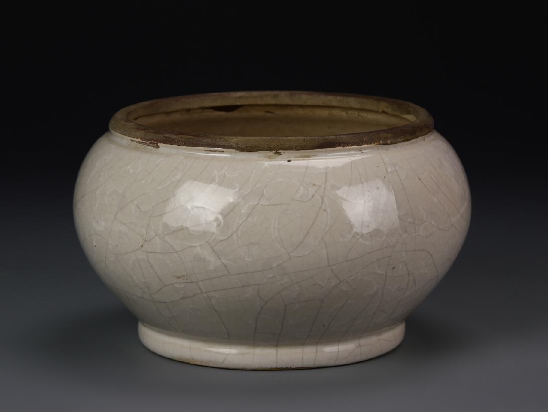 Art Pottery Brush Pot - 2