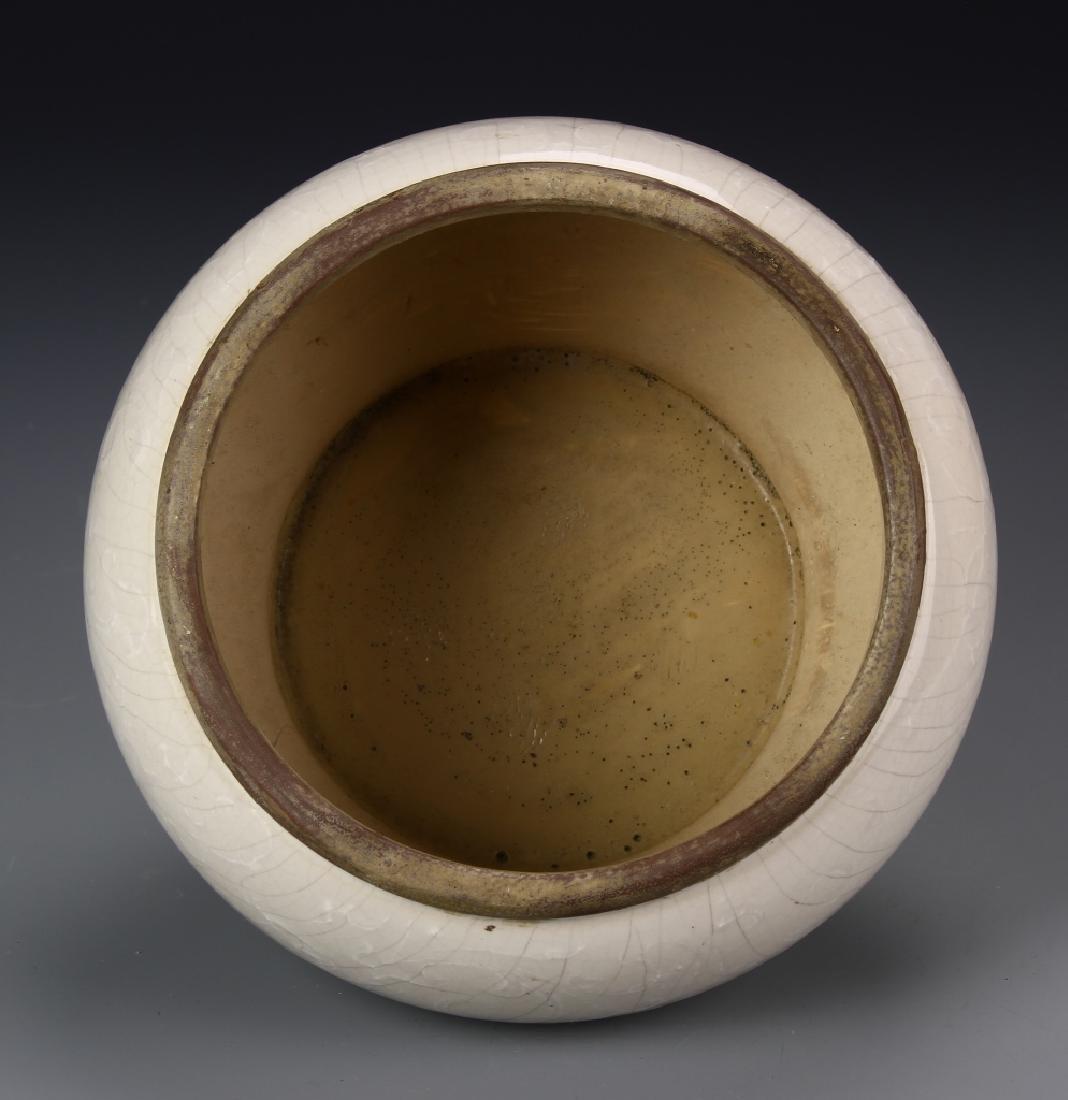 Art Pottery Brush Pot - 3