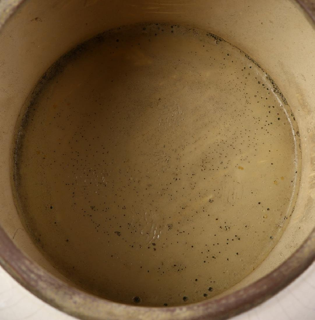 Art Pottery Brush Pot - 4