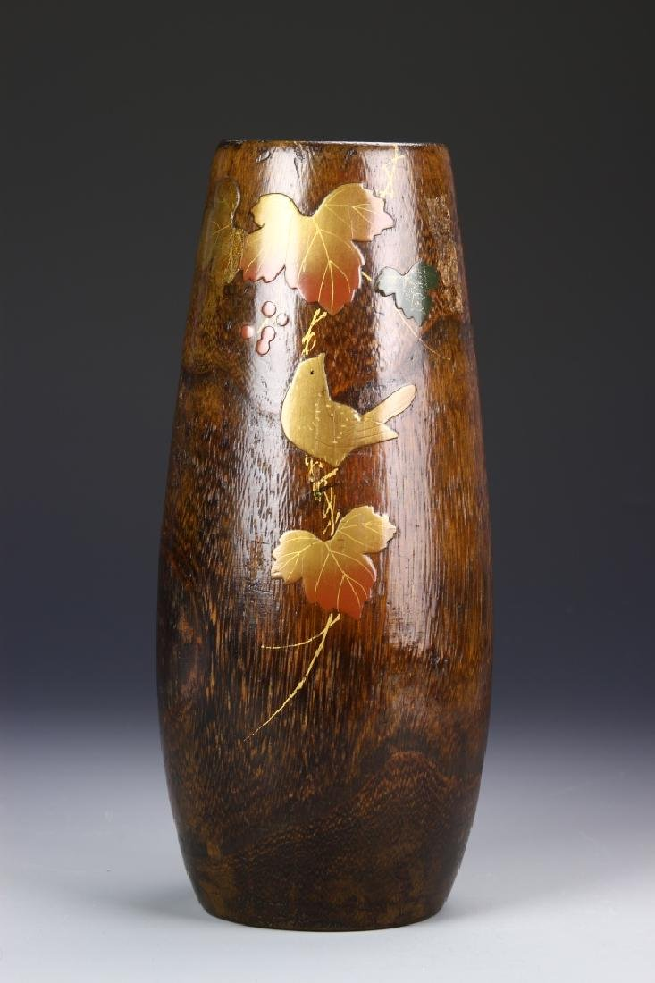 Japanese Lacquer Vase