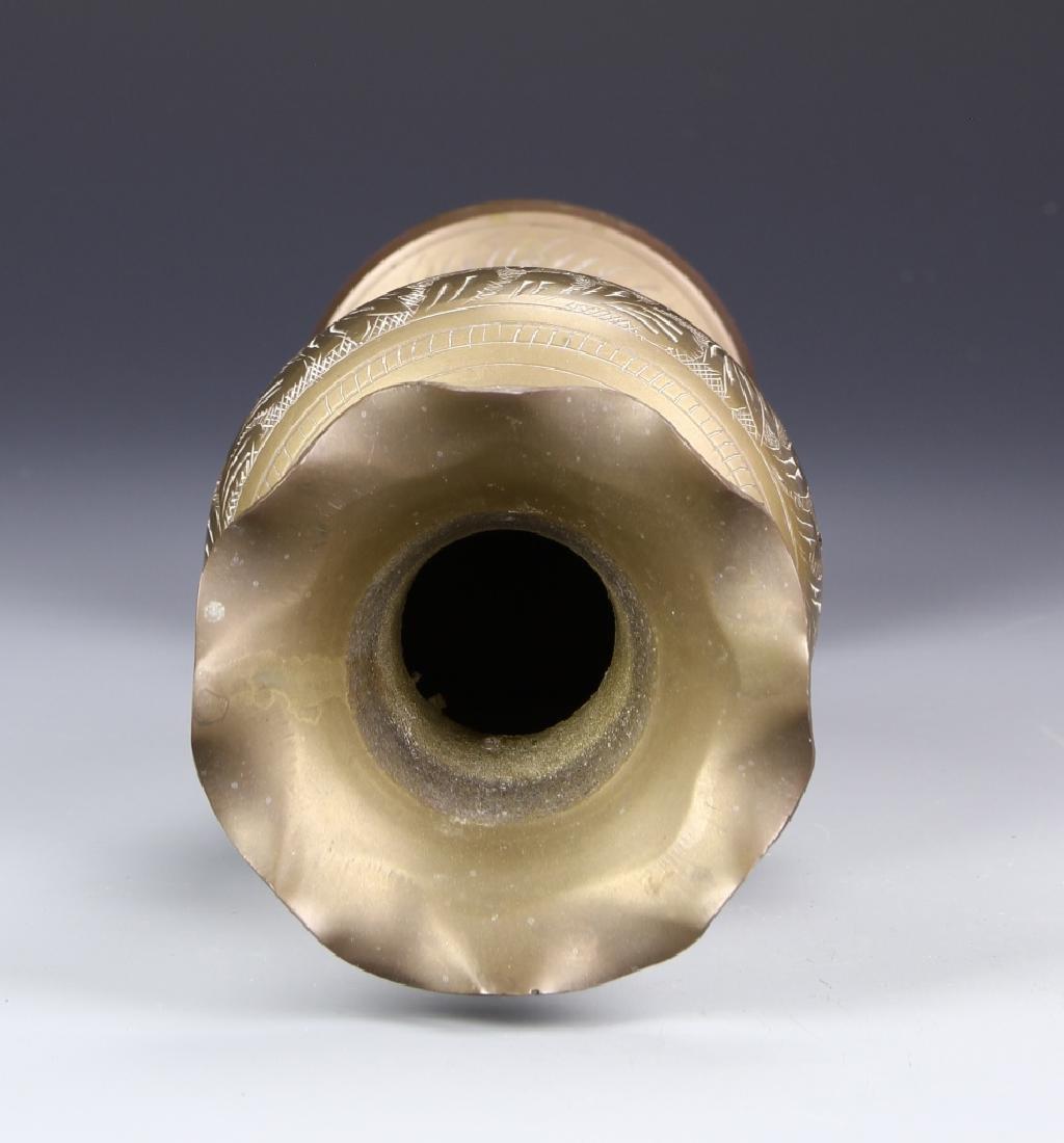 Thailand Brass Vase - 3