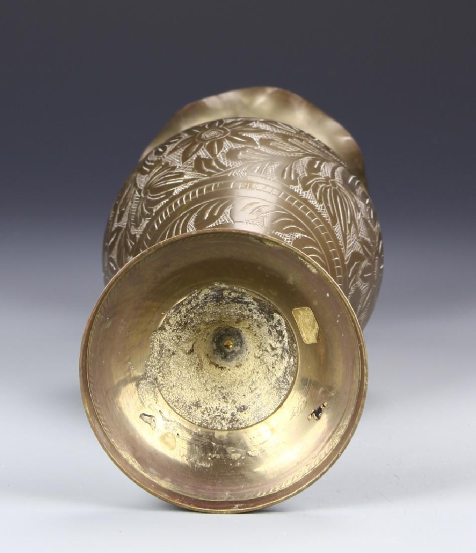 Thailand Brass Vase - 4