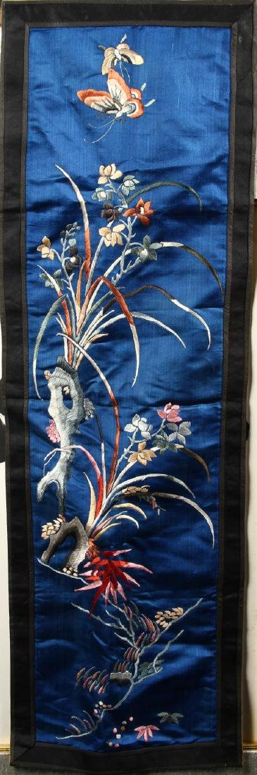 Chinese Silk Embroidery Hanging Panel