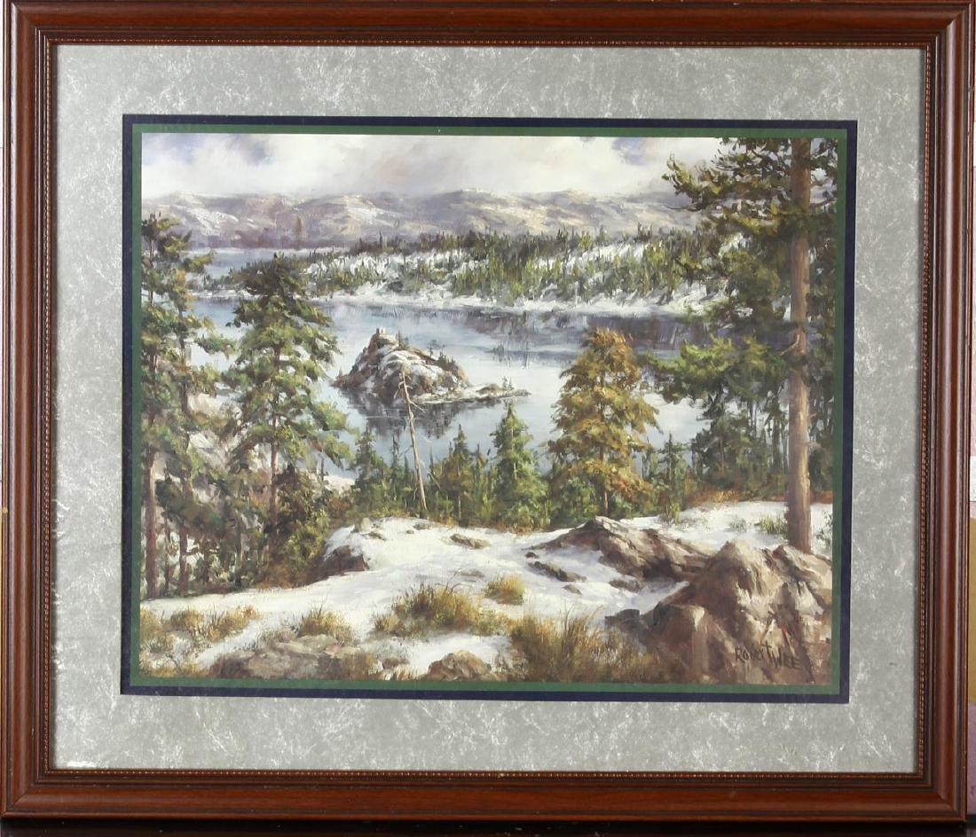 Robert Wee Landscape Print