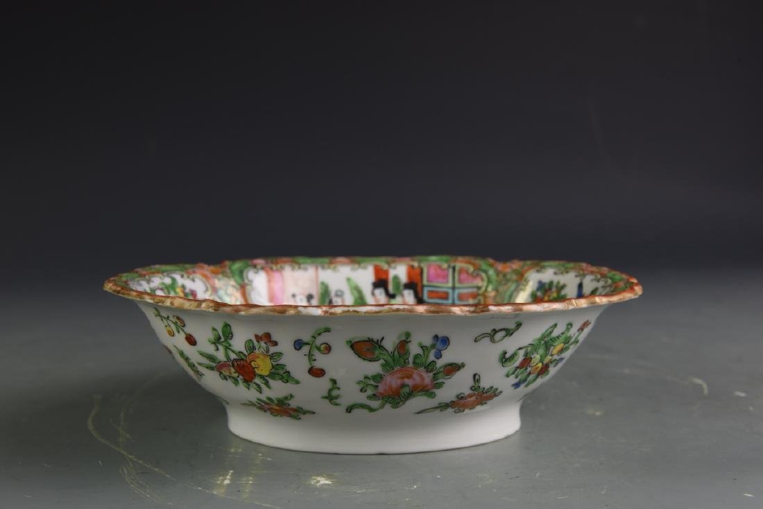 Three Chinese Porcelain Items and Pottery Censer