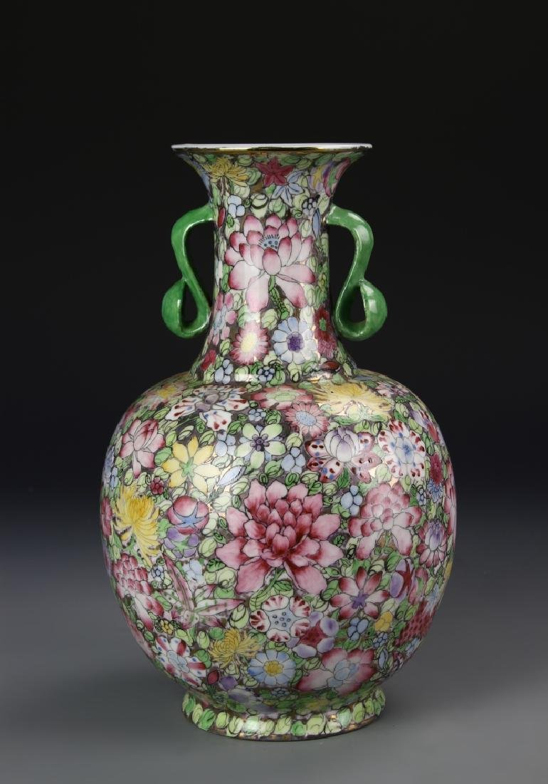 Chinese Famille Rose Vase