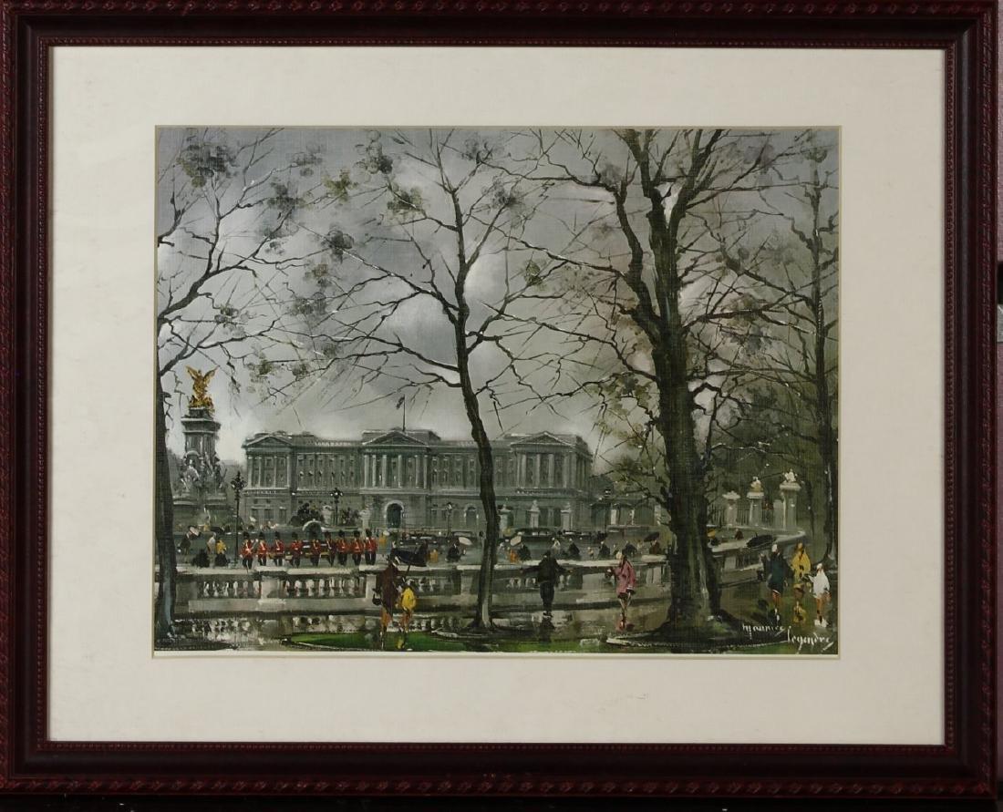 Framed Vintage Buckingham Scene