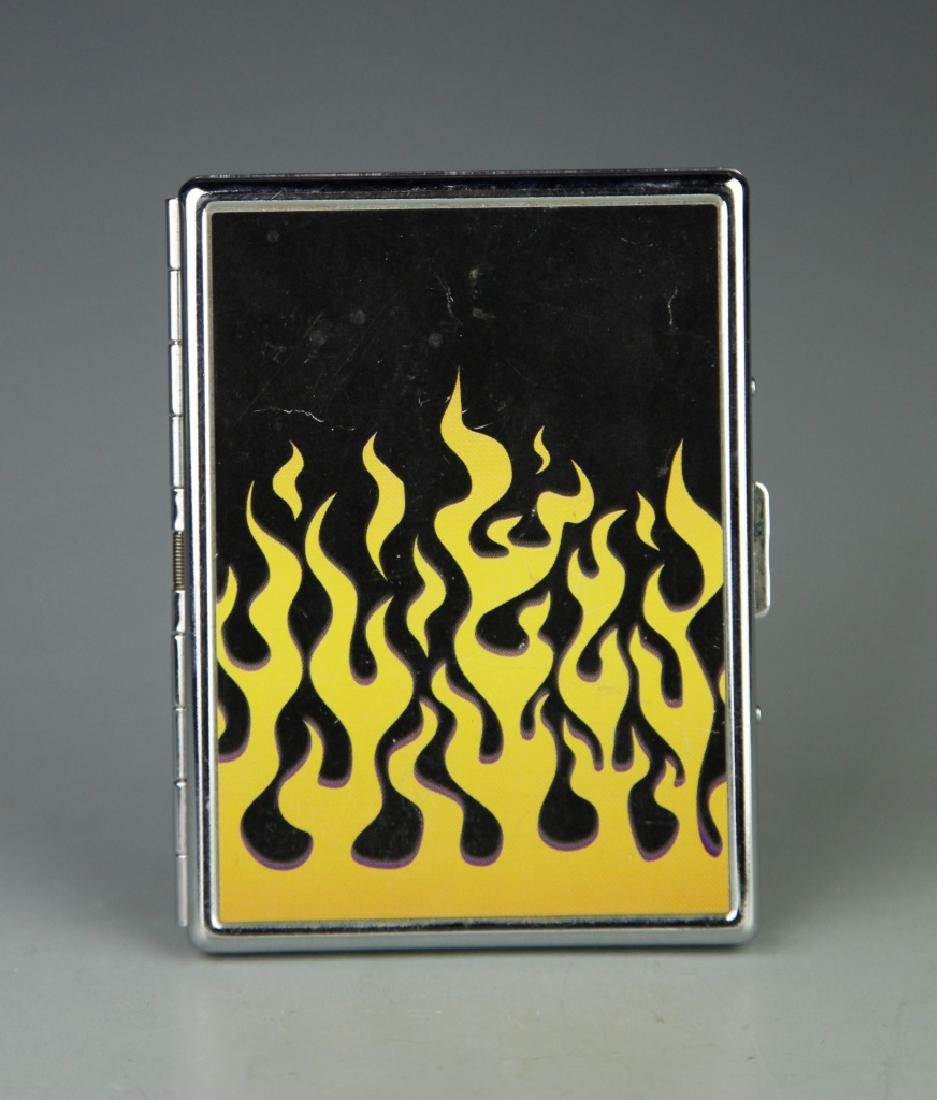 Chinese Metal Cigarette Box