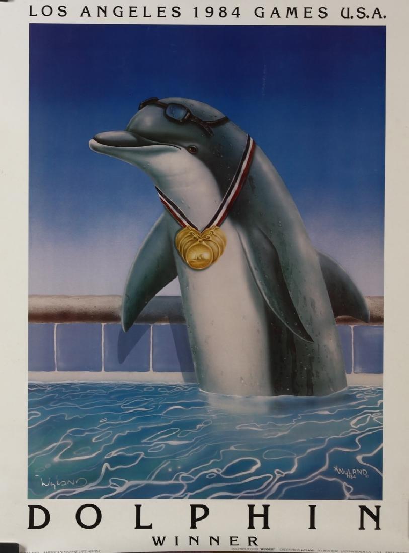 Dolphin Winner Poster