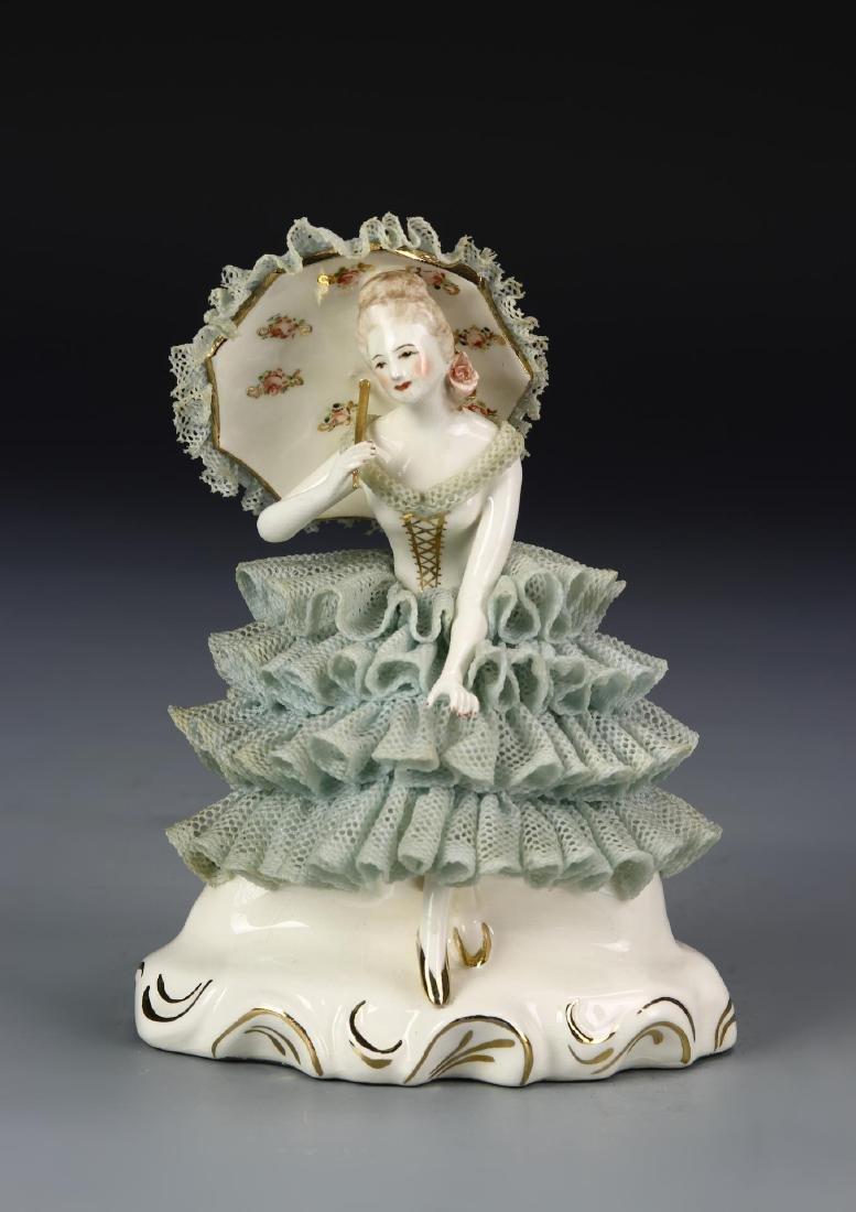 Porcelain Lady Figure