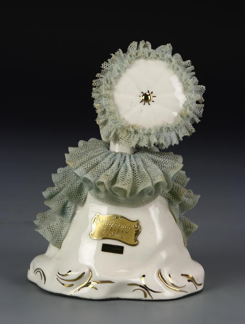Porcelain Lady Figure - 2