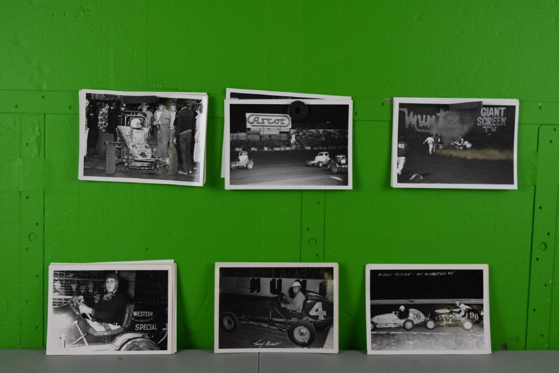 50 Racing Car and Racing Photo Collation