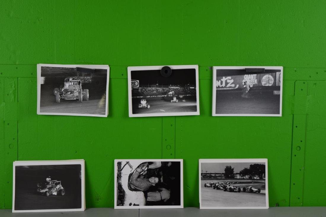 50 Racing Car and Racing Photo Collation - 2