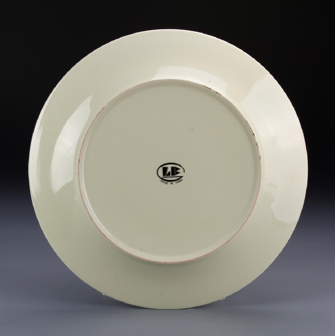 Chinese Decorative Porcelain Plate - 3