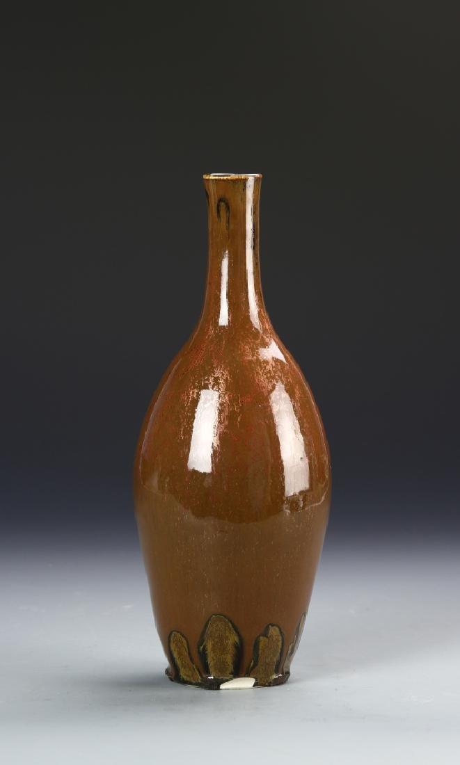 Pottery Vase Signed on base - 3