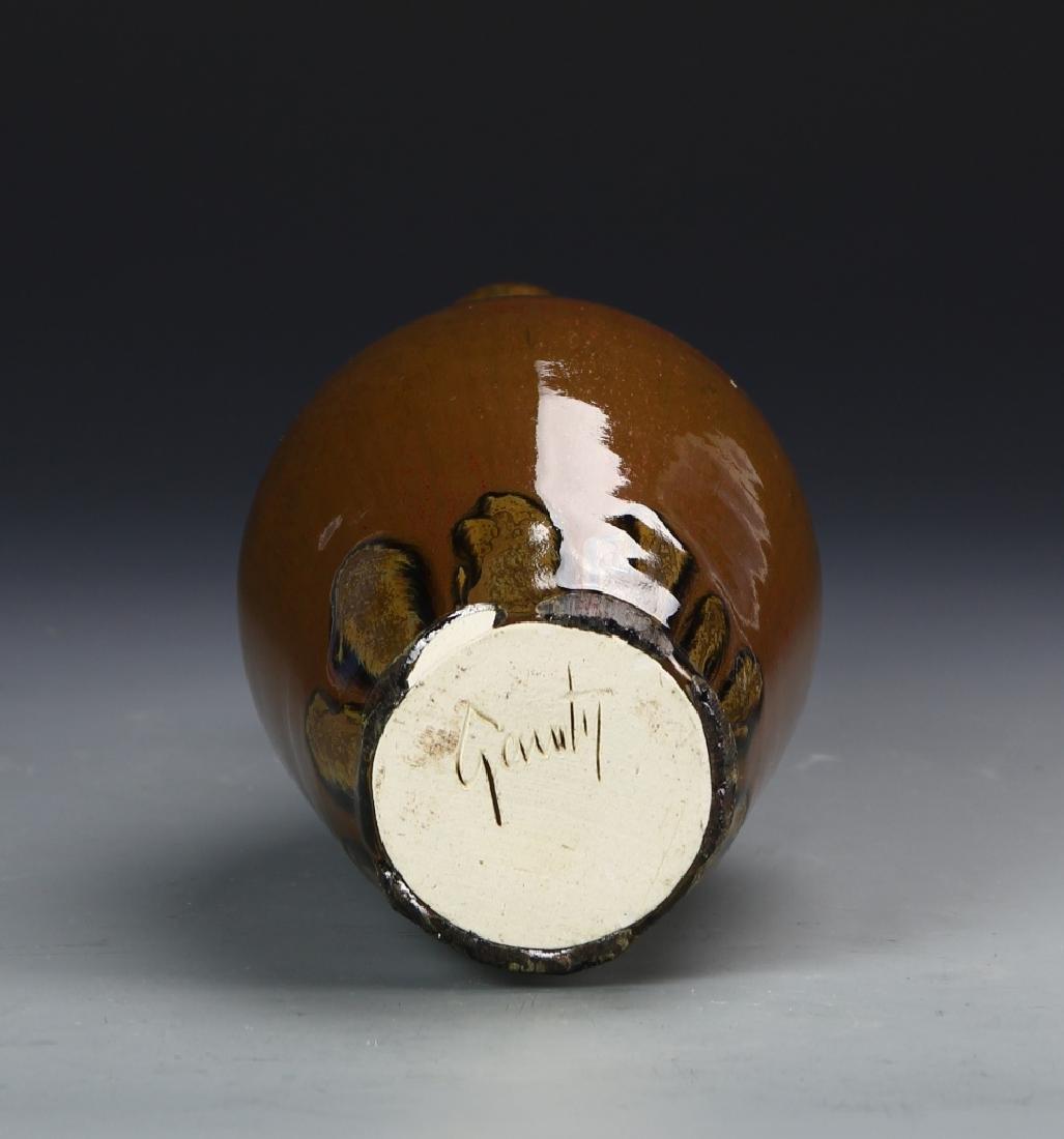 Pottery Vase Signed on base - 5