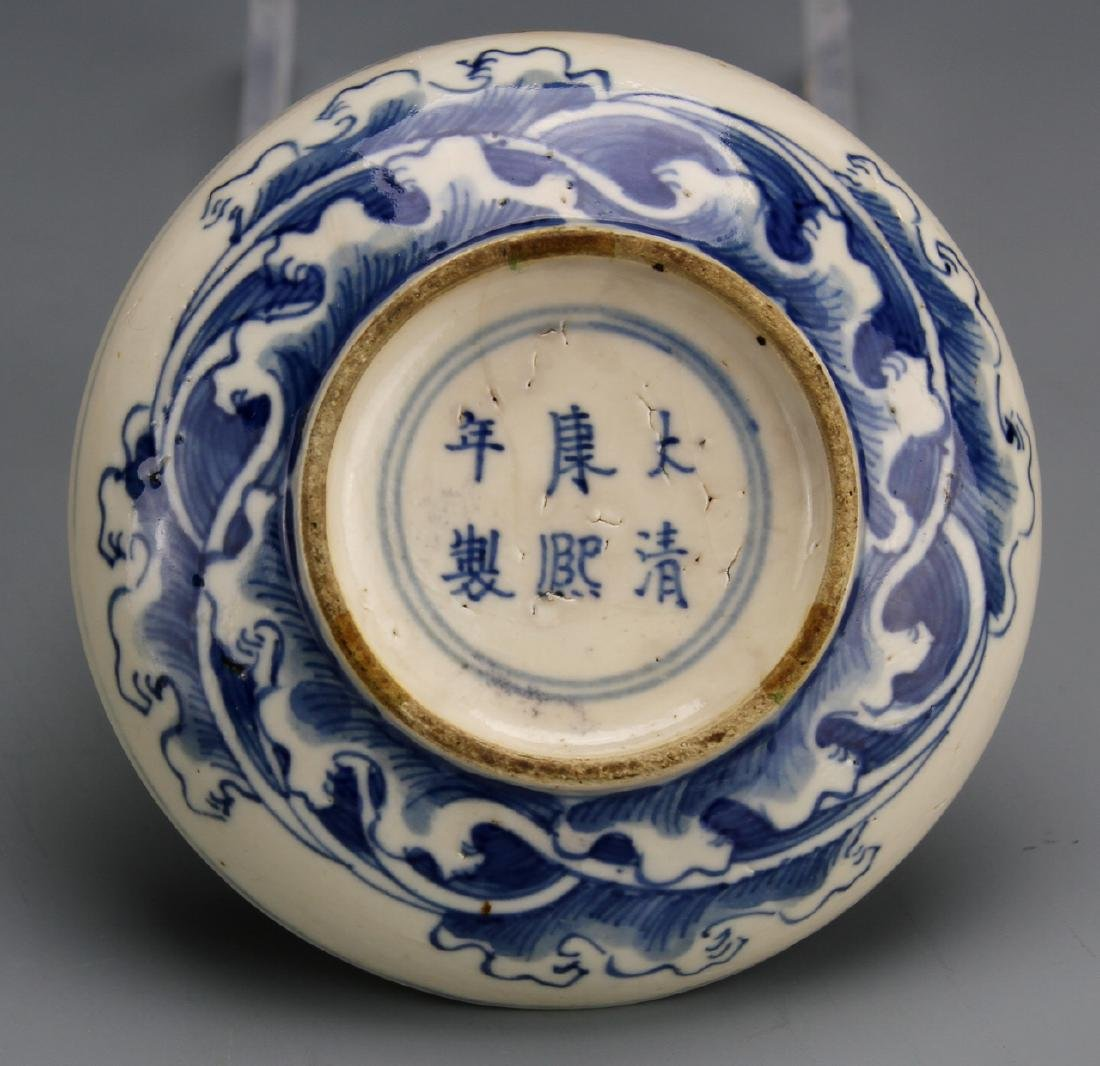 Chinese Soft-Paste Porcelain Seal Paste Box - 2