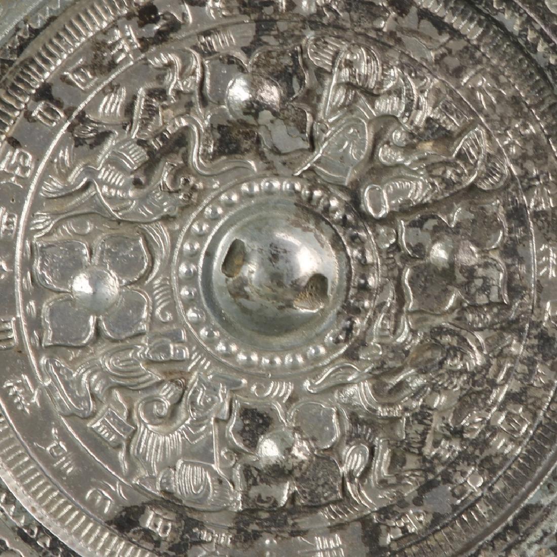 Chinese Antique Bronze Mirror - 2