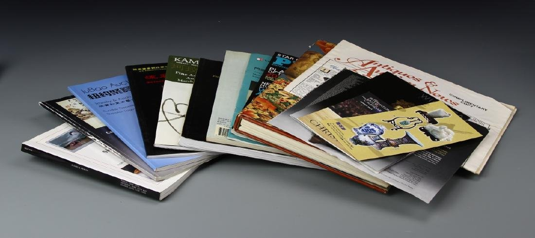 Asian Art Books and Auction Catalogs