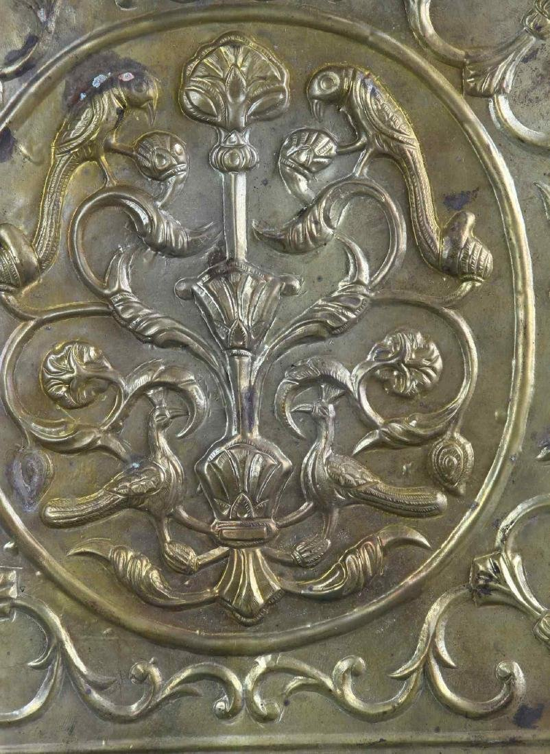 Old Indian Brass Decorative Wall Hanging - 2