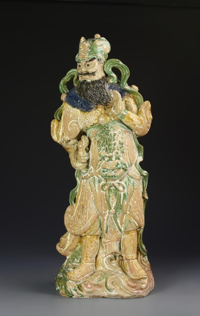 Chinese Sancai Pottery Figure