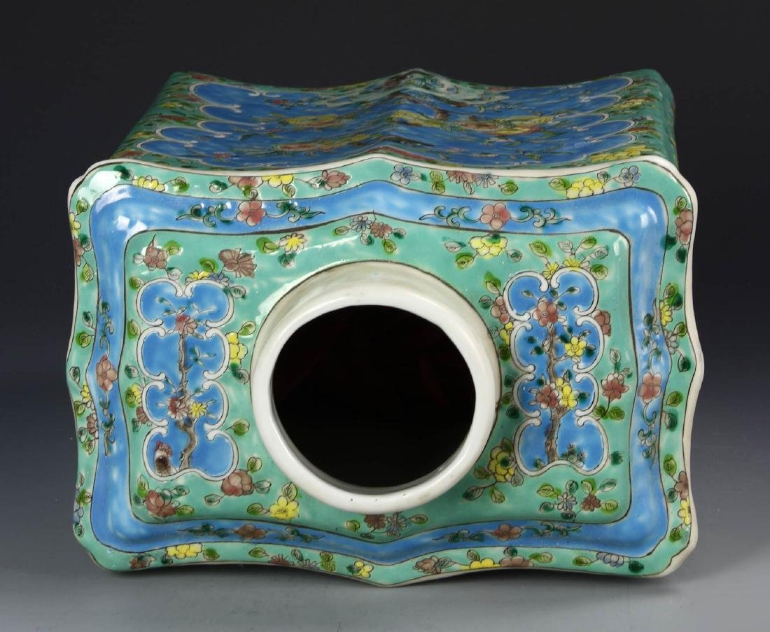 Chinese Famille Rose Tea Caddy - 2