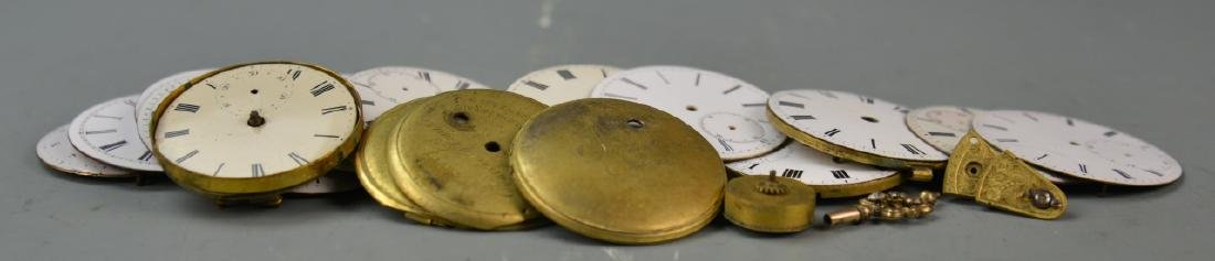 Sixteen Pocket Watch Faces