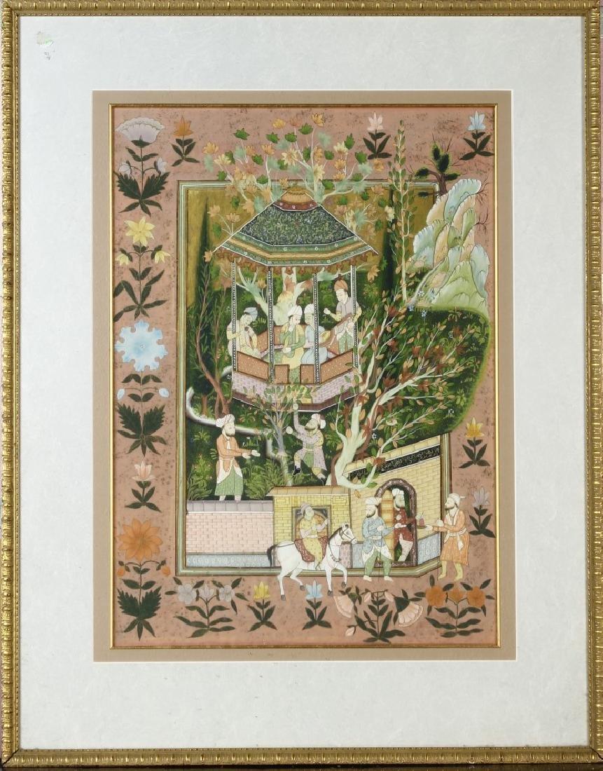 Framed Indian Print