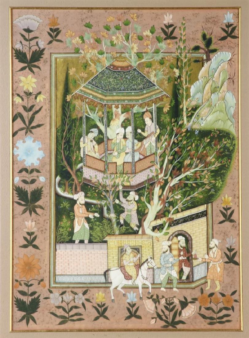Framed Indian Print - 2
