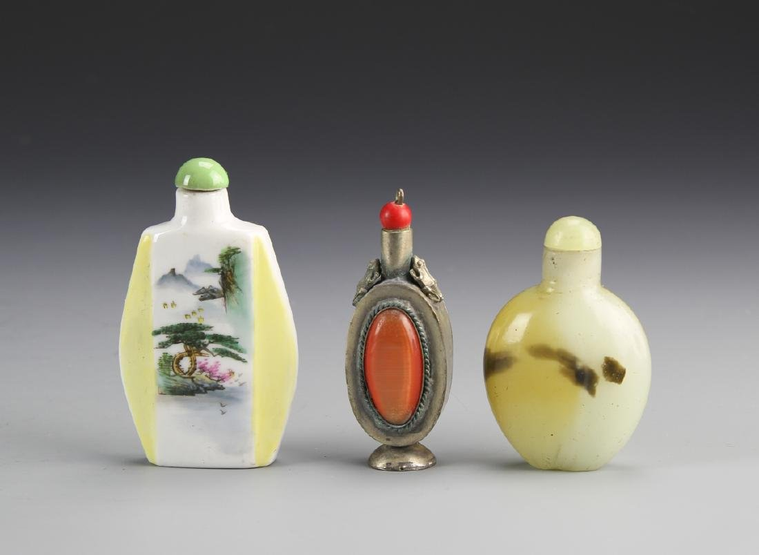 Three Chinese Snuff Bottles - 2