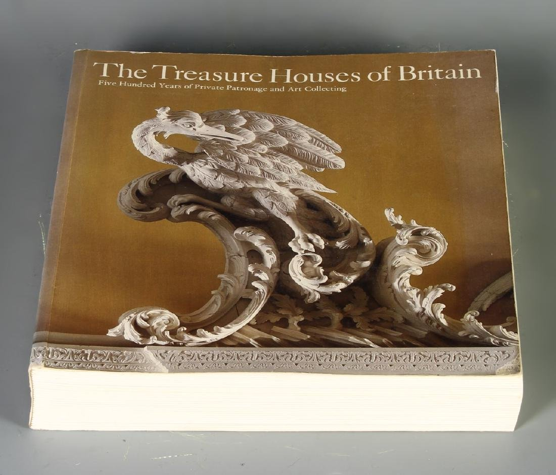 Book, Treasure Houses of Britain