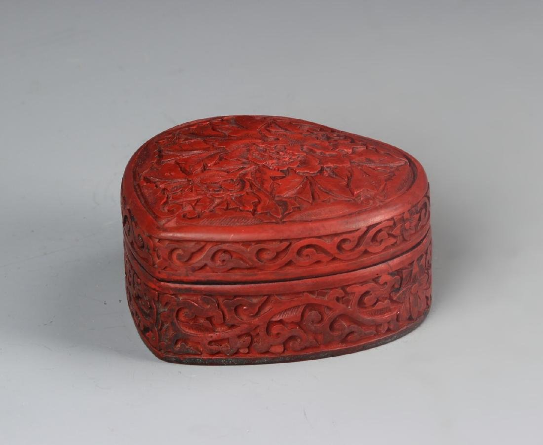 Chinese Lacquer Box - 2
