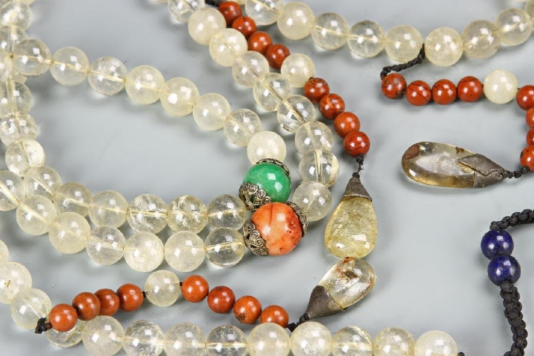 Chinese Beaded Court Necklace - 3