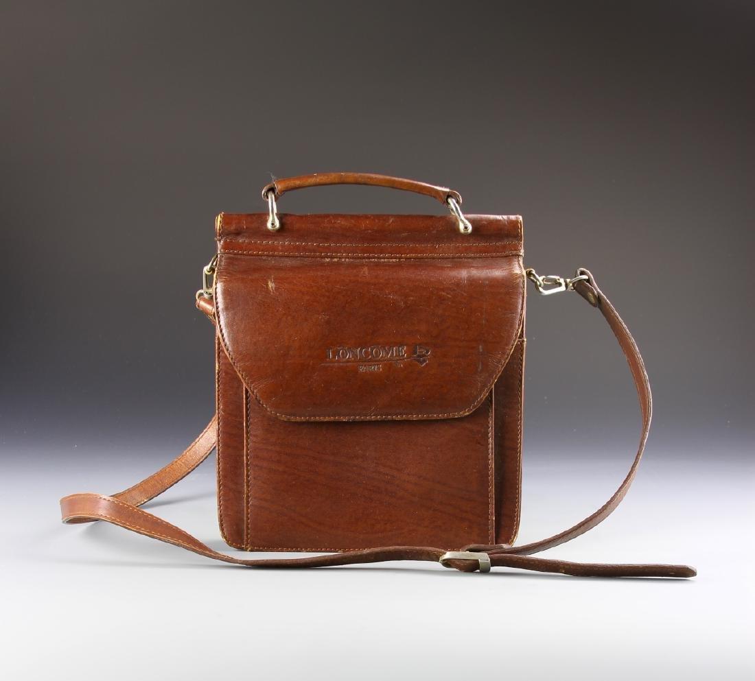 Vintage Lancome Leather Handbag