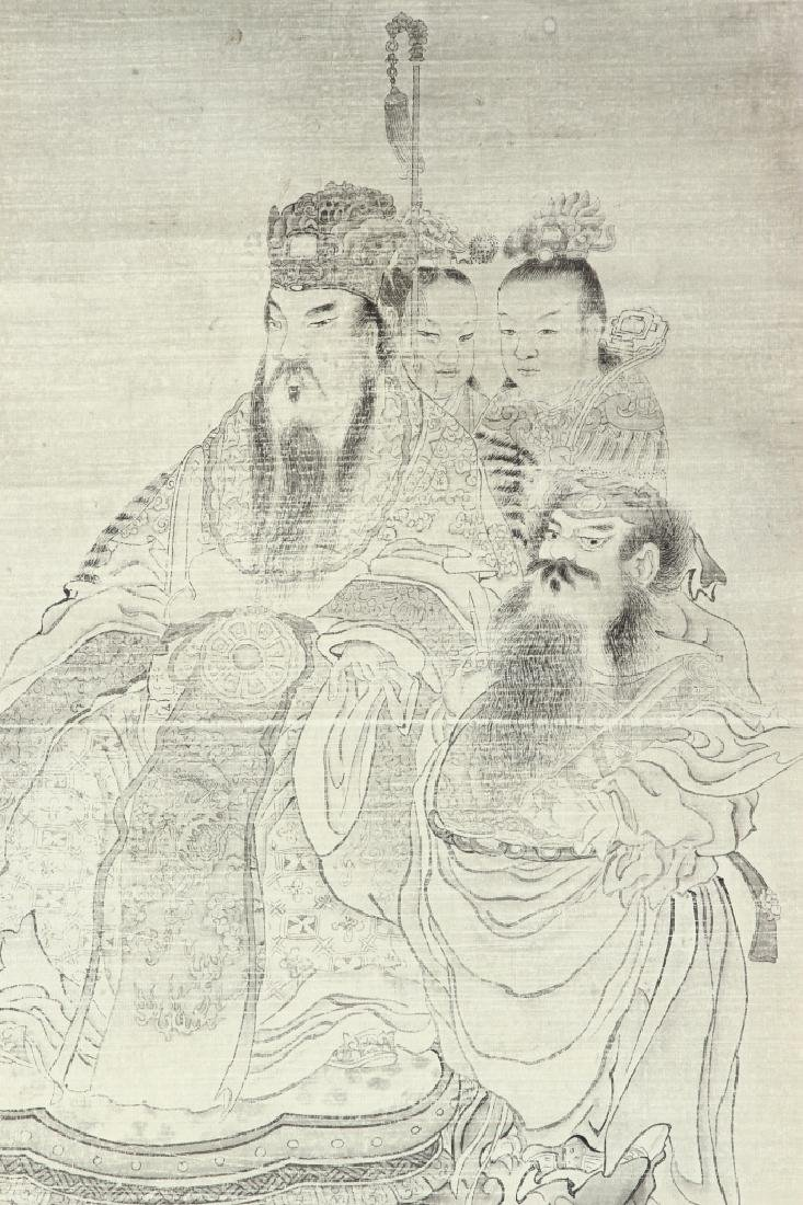 Chinese Painting of Buddha on Silk - 2
