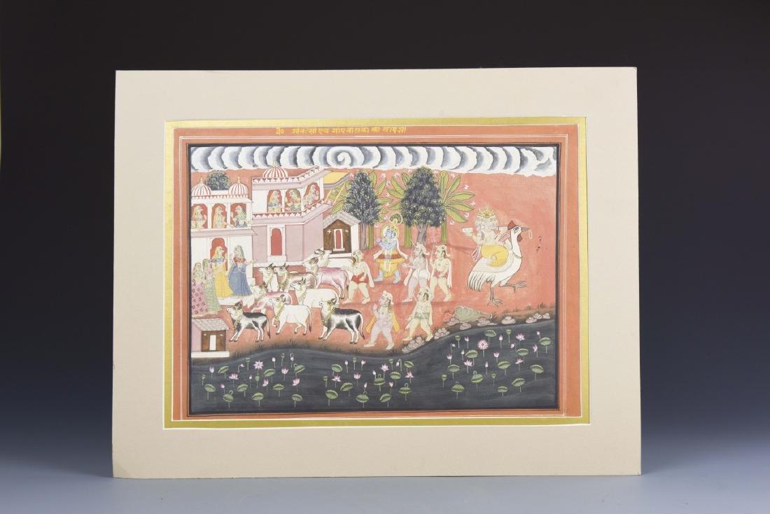 Indian Vintage Miniature Painting