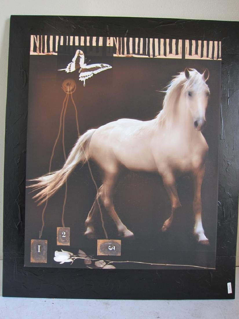 Art Work of White Horse