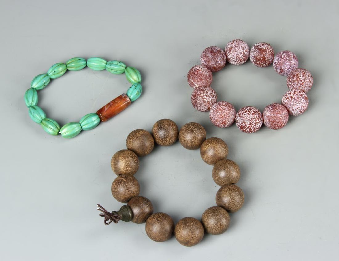 Three Chinese Bracelets