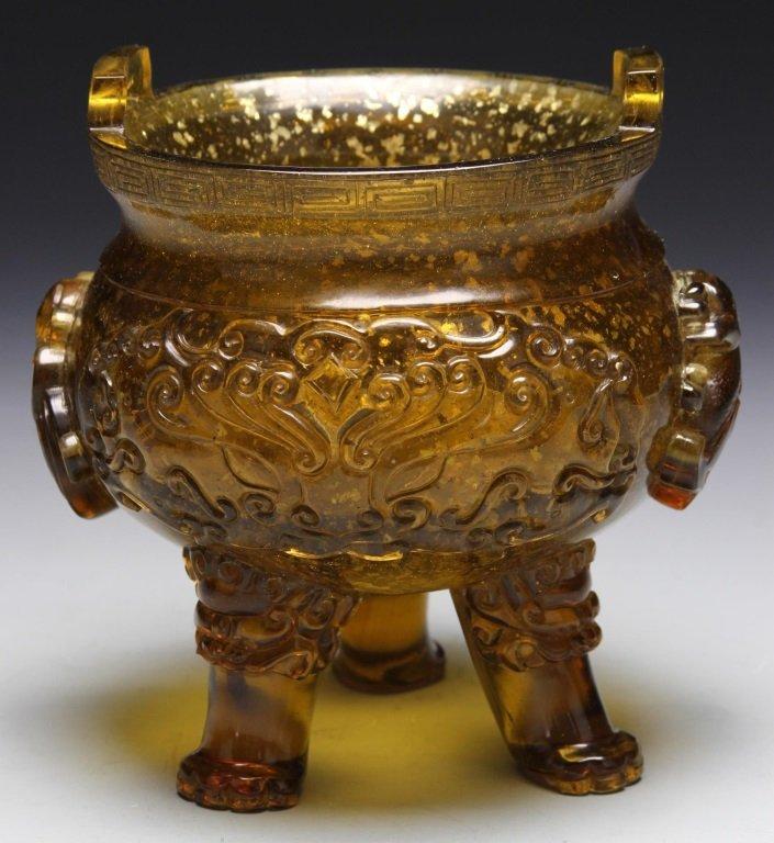 Chinese Peking Glass Censer
