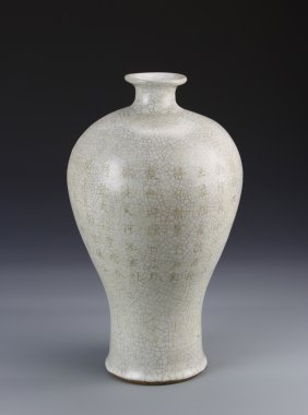 Chinese Ge Ware Meiping Vase