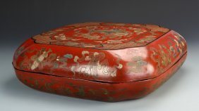 Chinese Lacquer Square Box