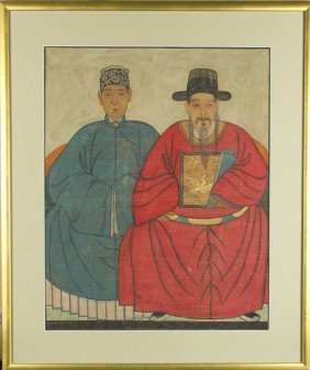 Chinese Antique Ancestral Paintings
