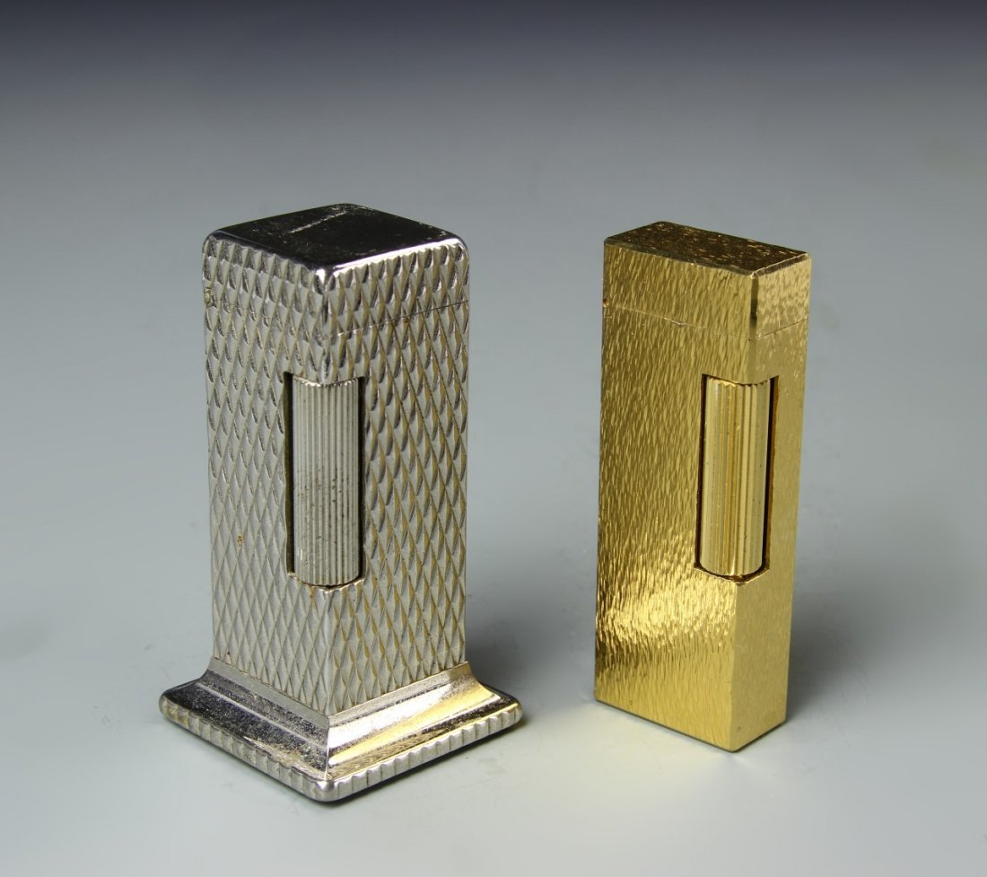 Two Dunhill Lighters